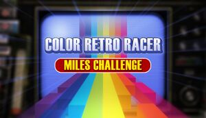 First Steam Game VHS - Color Retro Racer: Miles Challenge cover