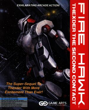Fire Hawk: Thexder - The Second Contact cover