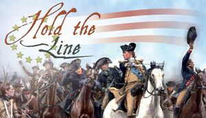 Hold the Line: The American Revolution cover