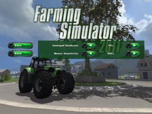 Advanced input settings