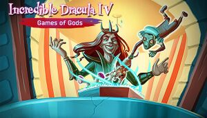 Incredible Dracula 4: Games Of Gods cover