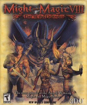Might and Magic VIII: Day of the Destroyer cover