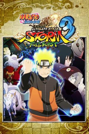Naruto Shippuden: Ultimate Ninja Storm 3 Full Burst cover
