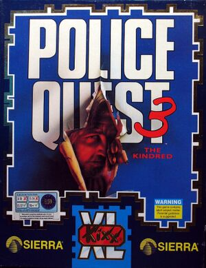 Police Quest III: The Kindred cover