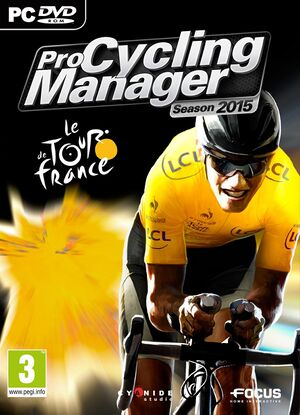 Pro Cycling Manager 2015 cover
