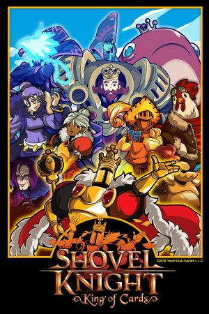 Shovel Knight: King of Cards cover