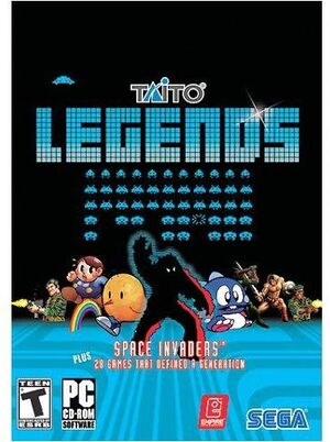 Taito Legends cover