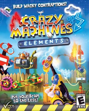 Crazy Machines Elements cover