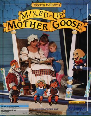 Mixed-Up Mother Goose cover