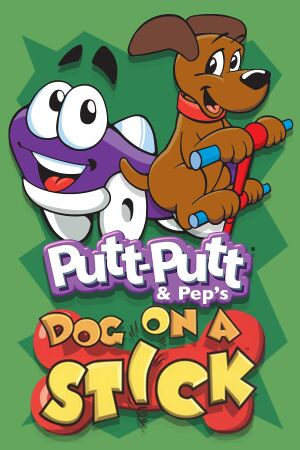 Putt-Putt and Pep's Dog on a Stick cover