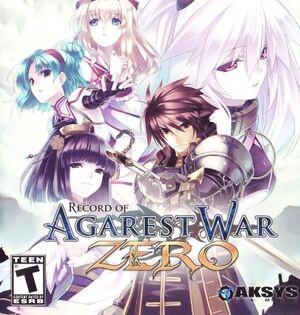 Agarest: Generations of War Zero cover