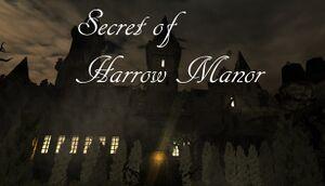 Secret of Harrow Manor cover