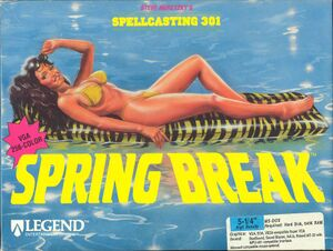 Spellcasting 301: Spring Break cover