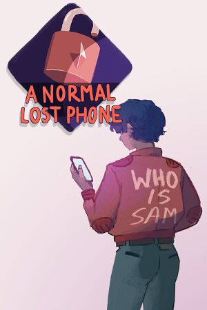 A Normal Lost Phone cover