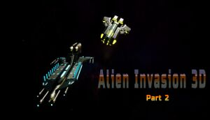 Alien Invasion 3D part 2 cover