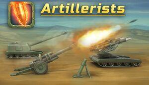 Artillerists cover