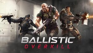 Ballistic Overkill cover