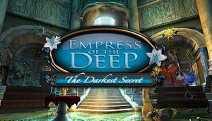 Empress of the Deep: The Darkest Secret cover