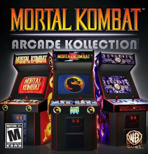 Mortal Kombat Arcade Kollection cover