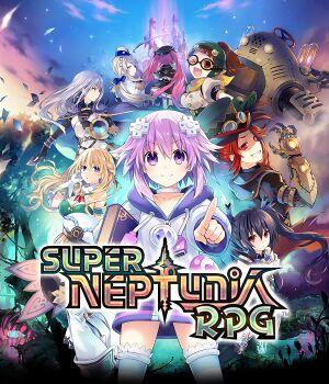 Super Neptunia RPG cover