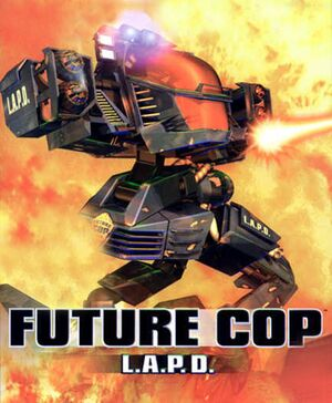 Future Cop: LAPD cover