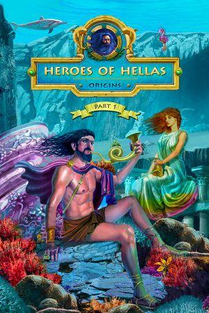 Heroes of Hellas Origins: Part One cover