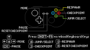 Game controls.