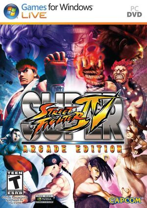 Super Street Fighter IV: Arcade Edition cover