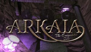 Arkaia: The Enigmatic Isle cover
