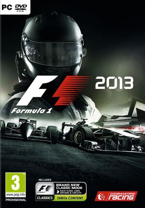 F1 2013 cover