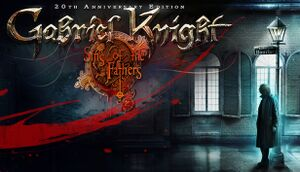 Gabriel Knight: Sins of the Fathers - 20th Anniversary Edition cover