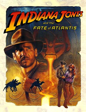 Indiana Jones and the Fate of Atlantis cover