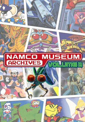 Namco Museum Archives Vol. 2 cover