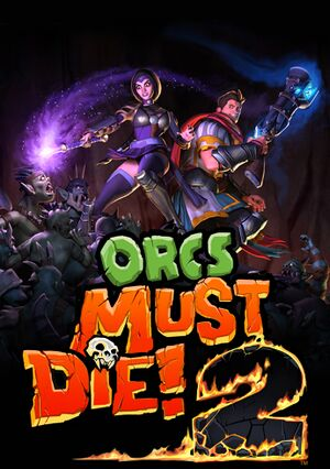 Orcs Must Die! 2 cover