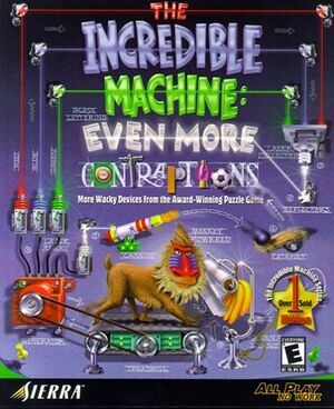 The Incredible Machine: Even More Contraptions cover