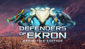 Defenders of Ekron - Definitive Edition cover