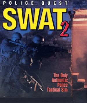 Police Quest: SWAT 2 cover