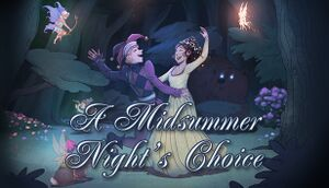 A Midsummer Night's Choice cover