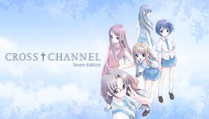 CROSS†CHANNEL cover