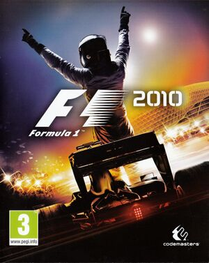 F1 2010 cover