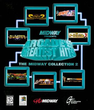 Arcade's Greatest Hits: The Midway Collection 2 cover