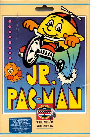 Jr. Pac-Man cover