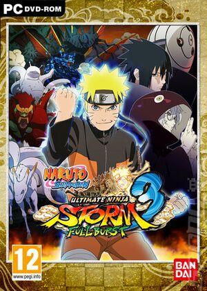 Naruto Shippuden: Ultimate Ninja Storm 3 Full Burst HD cover