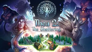 Thea 2: The Shattering cover