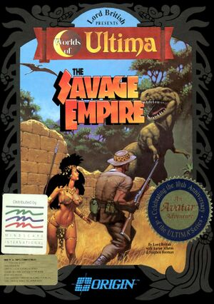 Worlds of Ultima: The Savage Empire cover