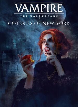 Vampire: The Masquerade -Coteries of New York cover