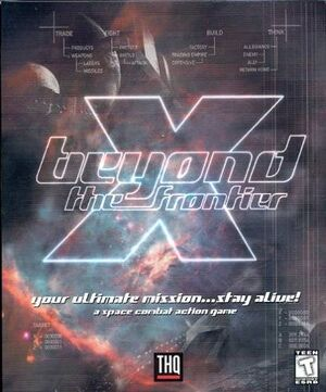X: Beyond the Frontier cover