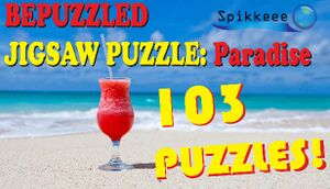 Bepuzzled Jigsaw Puzzle: Paradise cover