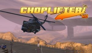 Choplifter HD cover