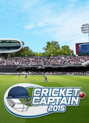 Cricket Captain 2015 cover